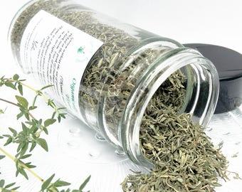 Organic Thyme, dried Thyme, Thymus mastichina, culinary herb gift