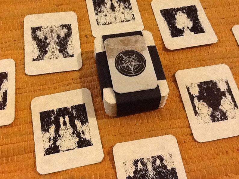 Demonic Divining Cards: Deck of 72 Shemhamforash image 0
