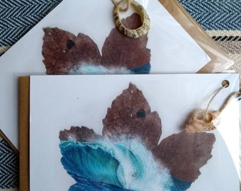 Sea Shells /& Starfish Youre a Star Greeting Card 4-Pack