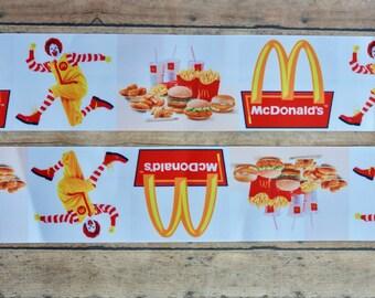 """3"""" Ronald McDonald Ribbon"""