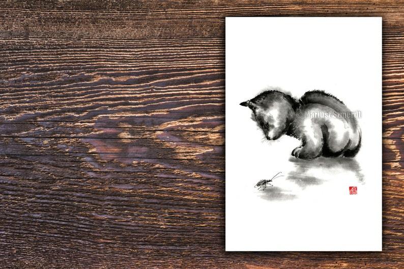 Minuscule chatte prend énorme coq