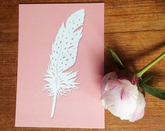 Postcards of original paper cut art - Papercutting print - Paper cut art print - Postcards  - Boho postcards - Any occasion cards