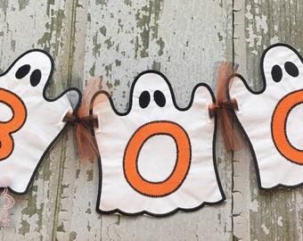 Halloween Banner, Ghost Banner, Halloween Party Banner, Halloween Decorations