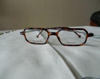 2d754e88de29 STEPPER TITANIUM Eyeglasses 46 X 16 Immaculate.NOS.
