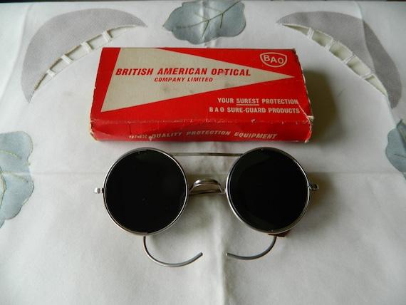 True Vintage Rare BAO British American Optical Com