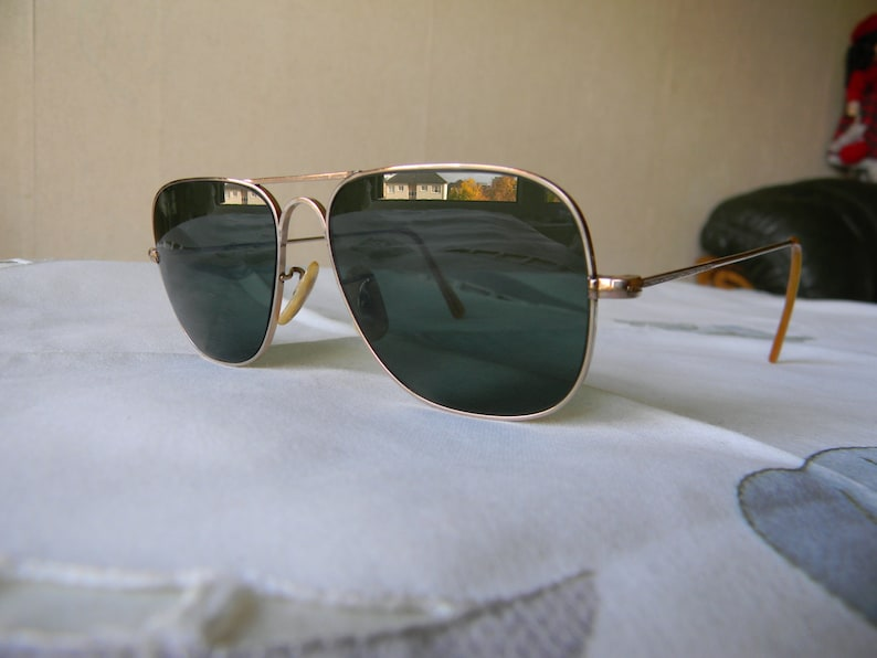 4339b4006e Rare True VintageGold filled Quadra 1-10-12 kgf Sunglasses