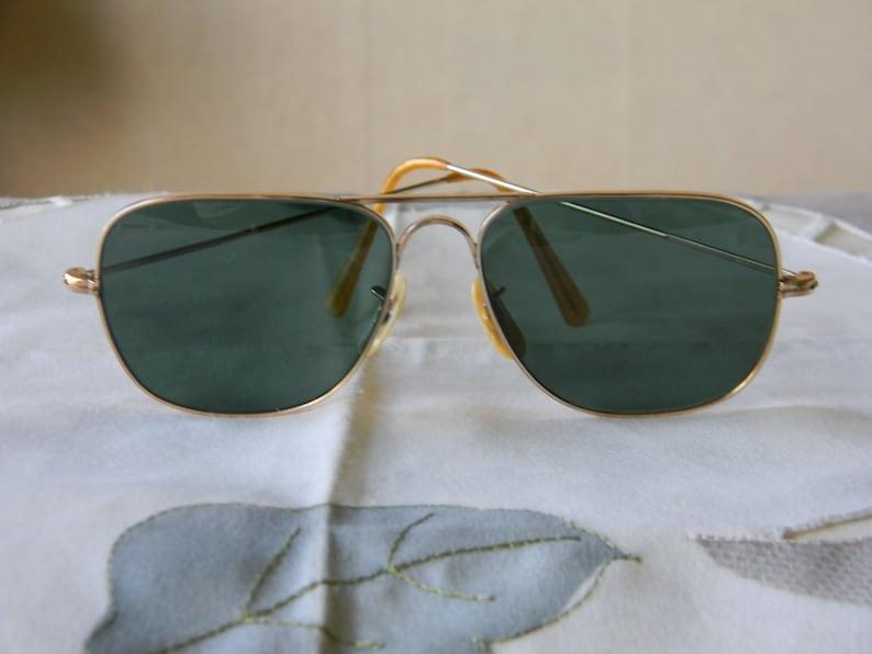 9904dc2a3d Rare True VintageGold filled Quadra 1-10-12 kgf Sunglasses