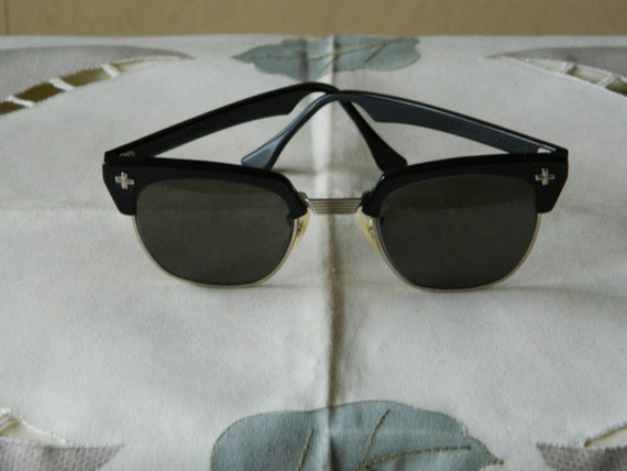 428af5269f True Vintage Rare Bausch   Lomb brow line Safety Sunglasses