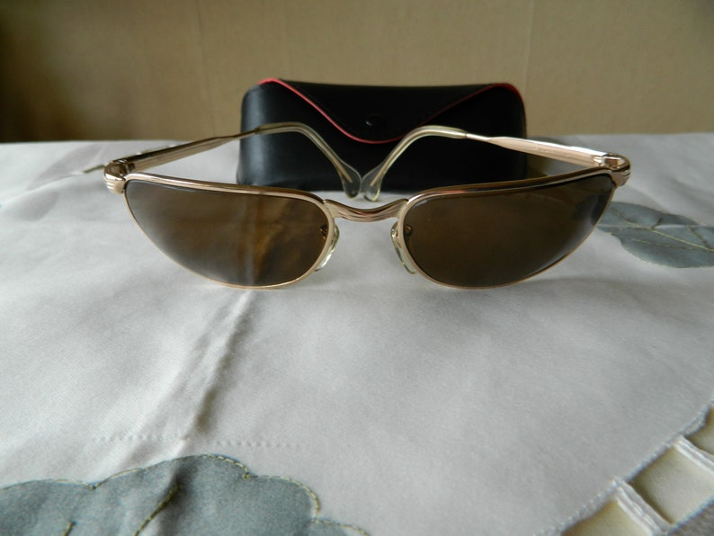 9c32bd377ca7 True Vintage Rare Marwitz Optima Umbramatic sunglasses Wrap