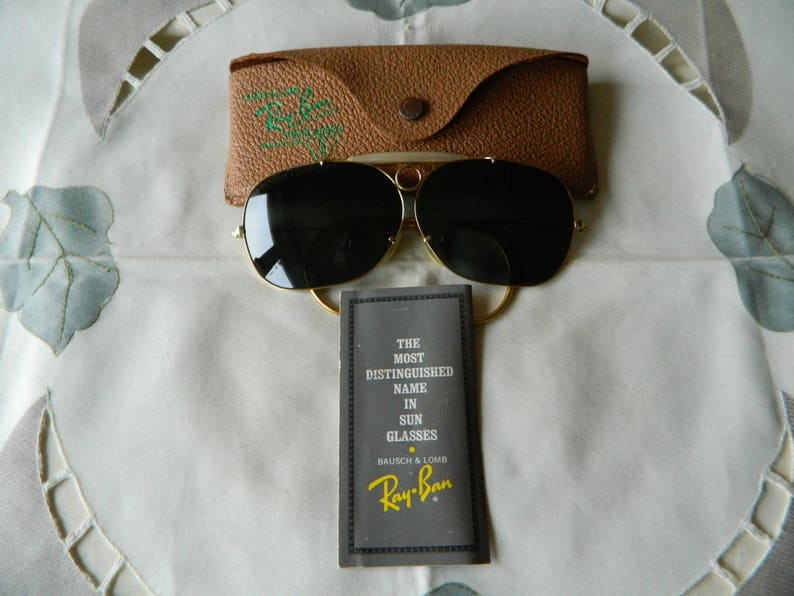 46a0dfbd35e True Vintage Rare Ray Ban Bausch   Lomb Vintage Shooter Bud