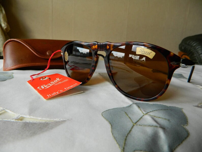 b4c77a36759 Vintage Rare Persol RATTI 649 5 MEFLECTO system in X-large size