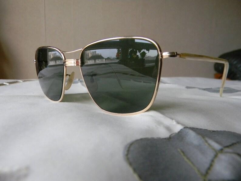 681aaedb222be3 Waar Vintage zeldzame ALTAN gouden gevulde SOL-BAY zonnebril