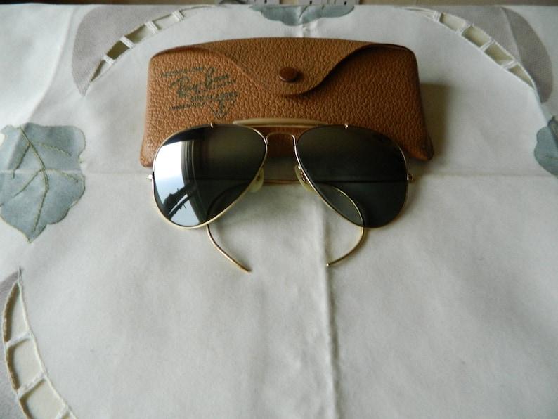 718859c3d11 True Vintage Rare B L Ray Ban Outdoorsman 58 mm Darker at top