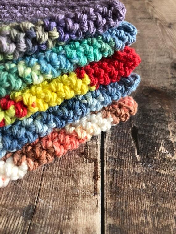 Diagonal Crochet Potholder Pattern Pdf Download Only Double Etsy