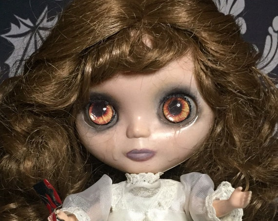 Revenge Blythe Style Doll Fatal Attraction Crying Butcher Knife Victorian Chopped Cheaters Hand And Spawn Biohazard Baby