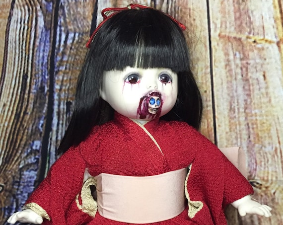 Japanese Undead Original Spirit Eating Soft Body Kimono Dressed Zombie Biohazard Baby