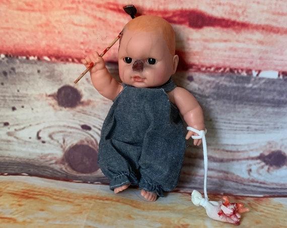 Original Undead Cannibal Ready To Farm Doll Set Zombie Biohazard Baby