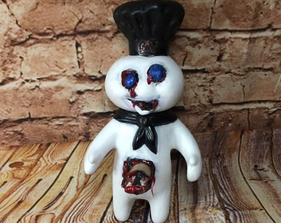 Original Pilsbury Dead Doughboy Zombie Biohazard Baby