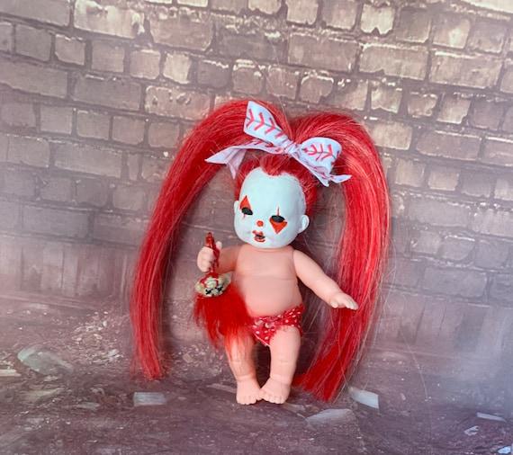 Original Undead Mini Doll Set Killer Clown Butcher Baby Carnival Carnivore Troll Trauma Biohazard Baby