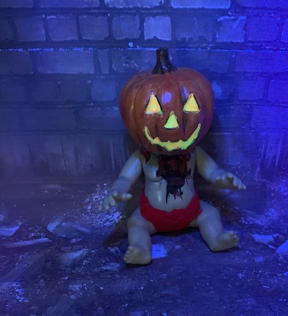 Original Undead Pumpkinhead Holiday Horror Miniature Biohazard Baby