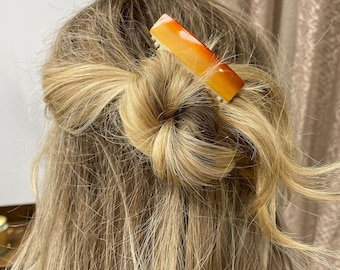 Vintage French Sunrise Hair Comb