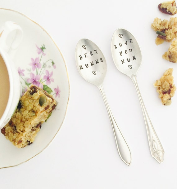 Silver Plated Vintage Mums Spoon