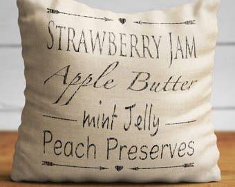 Grain Sack Pillows Flour Sack Pillow Farmhouse Pillowcase Fabrics With Sayings Country Rustic Throw Primitive Vintage Burlap Shabby Chic