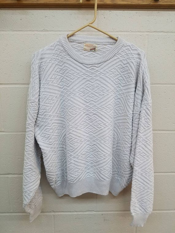 e5029caf8f36e Crew Neck Sweater Size Large The Fox Collection