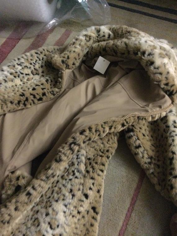 Leopard reversible jacket