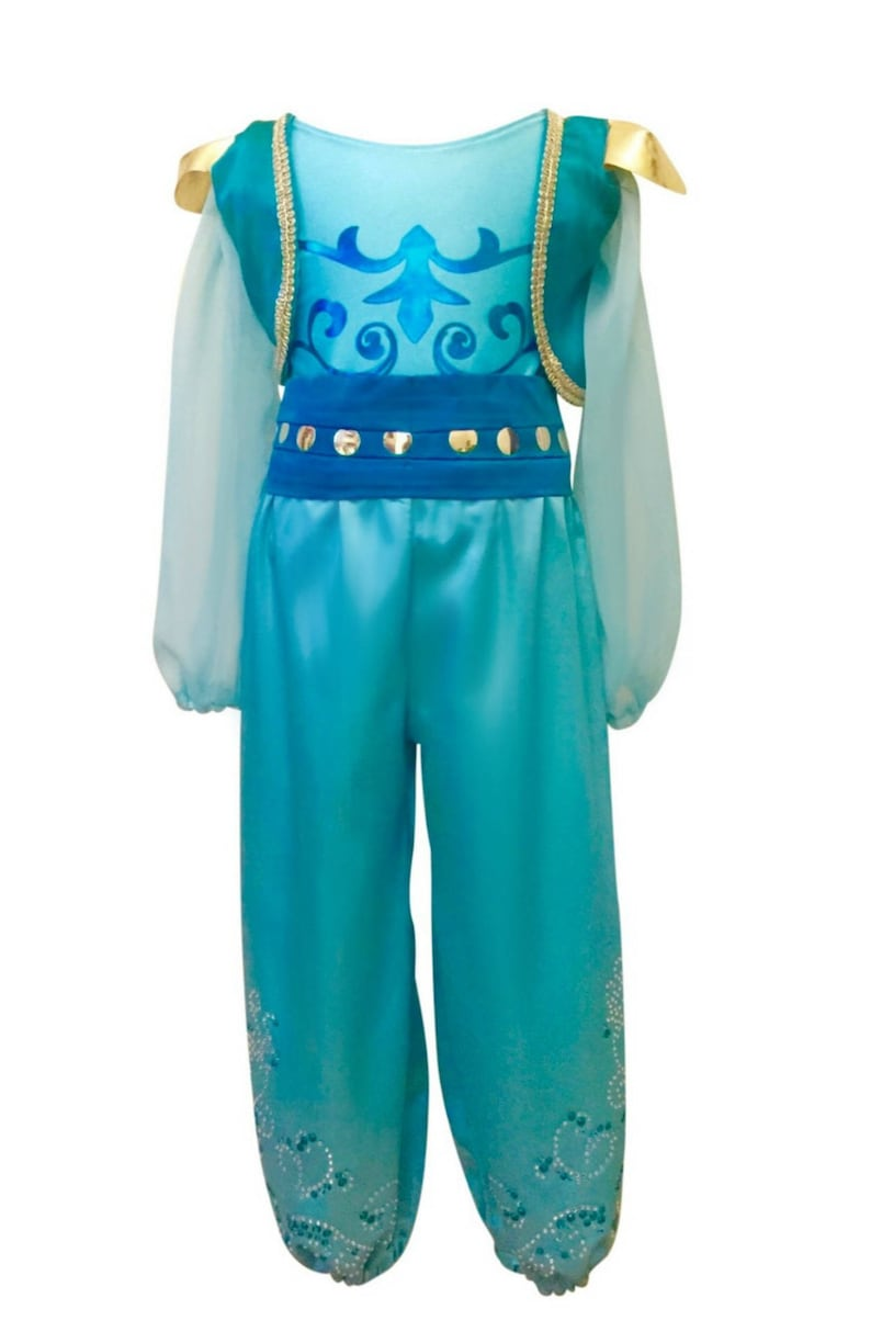 Girls Shimmer And Shine Inspired Costume Shimmer Shine Etsy