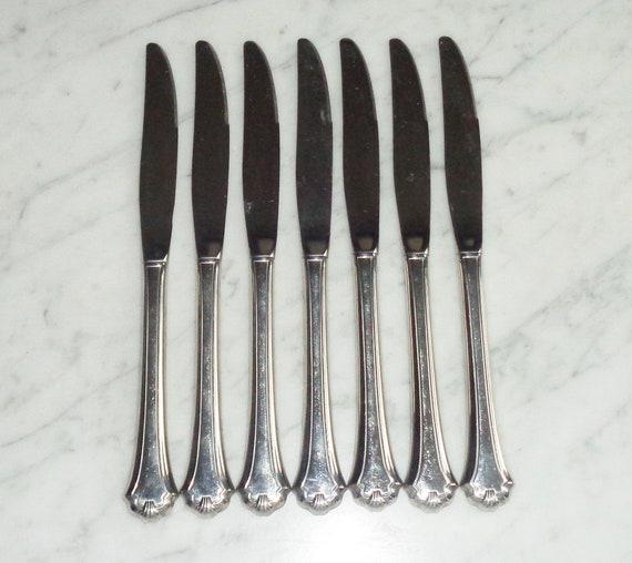 "4 Oneida USA  /""MIDTOWNE/""   Stainless Dinner Forks"