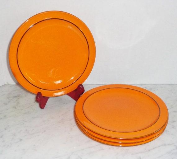Thomas Rosenthal Germany Scandic Flame Flammfest Plates and Souffle Ramekin Creamer Pitcher