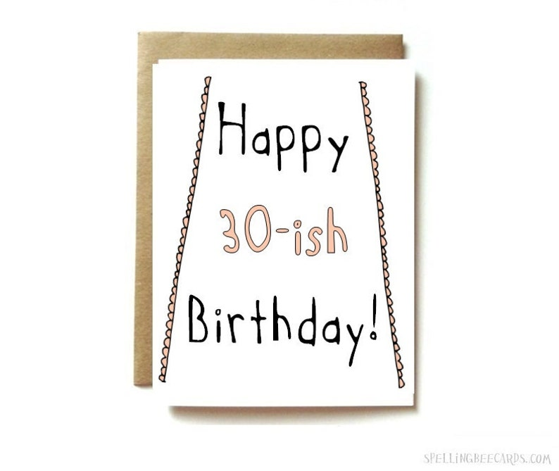 35th Birthday Card 39th 30s