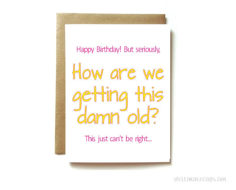 Birthday Card For Sister Or Best Friend Funny
