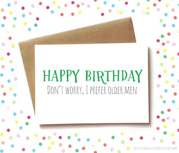 Birthday Card For Him Husband Or Boyfriend
