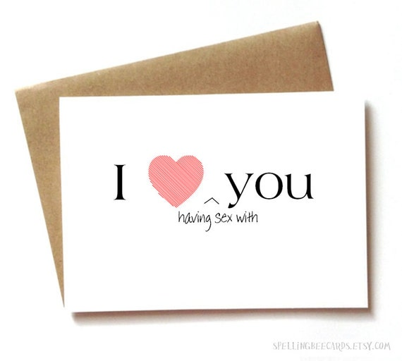 Sexy i love you card for boyfriend girlfriend husband or etsy image 0 m4hsunfo