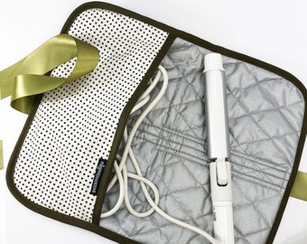 Olive Green and Black Print BAGOLITAS Thermal Hot Iron Cover