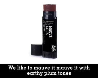 Mauvellous Lip Tint. Fair Trade Organic Vegan Cruelty-Free Cosmetics. 5% of Proceeds Proudly Go To Grassroots Charities