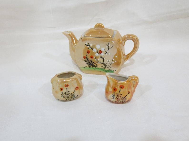 Miniature  Japanese Tea Set