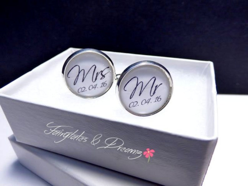 UK Dad Photo Cuff links Fathers Day Father of BrideGroom I Will Always Be Your Little GirlBoy  Personalised CuffLinks