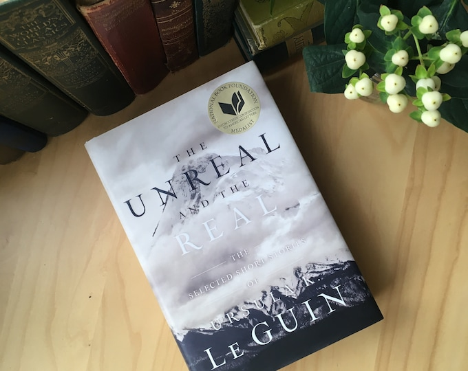 Featured listing image: The Unreal and the Real, Signed - Ursula K. LeGuin