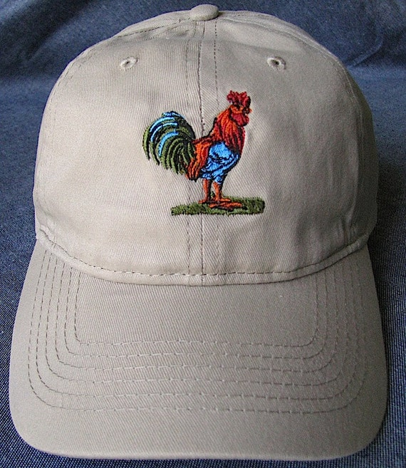 Colorful Rooster Hat