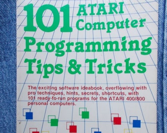 Vintage Atari Computer Tips and Tricks Book 1983