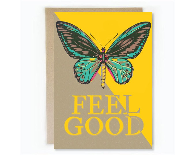 Feel Good Get Well Soon Greeting Card