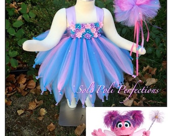 Abby Cadabby Tutu Tutu Costume Tutu Dress Abby Cadabby Costume Pink Tutu Purple Tutu Tutu Set Infant Tutu Birthday Tutu Tutu Dress & Abby cadabby dress | Etsy