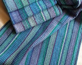 Handwoven Towel Waffle or Plain Weave - Dish Tea Kitchen Hand Bread Guest Towels - Cotton