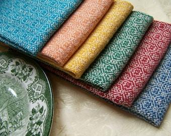 50 Colors! Custom Handwoven Cotton Towel - Dish Tea Kitchen Hand Bread Guest Towels - READ DESCRIPTION