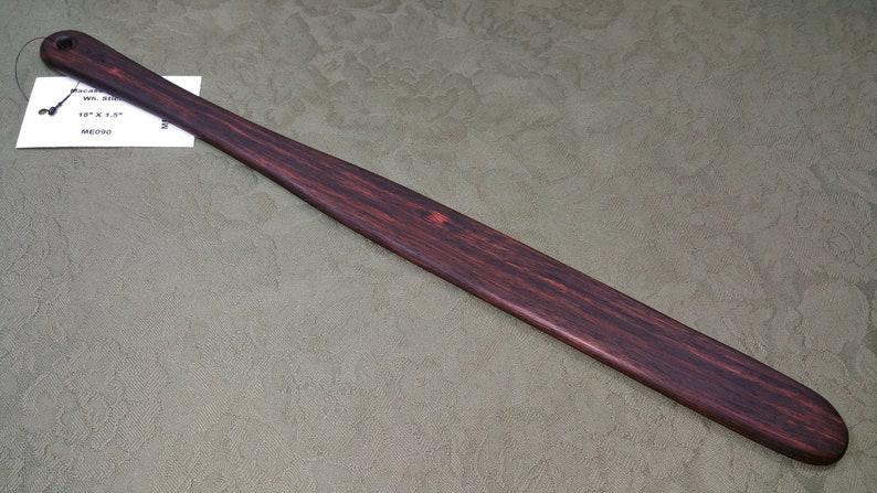 Macassar Ebony Rare Miss Rose Paddles Spanking Paddle image 0