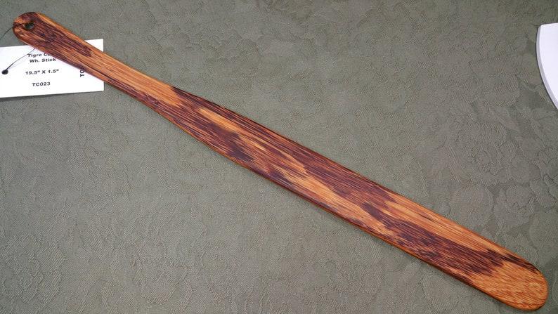 Marblewood Tigre Caspi Rare Miss Rose Paddles Spanking Paddle image 0