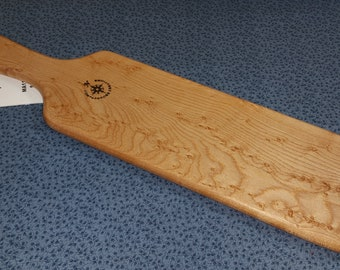 Maple Miss Rose Paddles Birdseye Birds Eye Maple Spanking Paddle BOE BDSM OTK MA0119